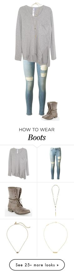 """""""Troops boots"""" by southerbelle549 on Polyvore featuring rag & bone, Steve Madden, Wilt, Kate Spade, Yves Saint Laurent and Chan Luu"""