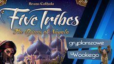 Five Tribes!! Bardzo dobre recenzje, dużo myślenia i różne warianty gry