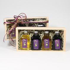Oils & Balsamics Sampler Pack- Olive Cart