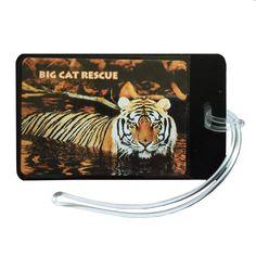 Luggage Tag - Photo Tiger