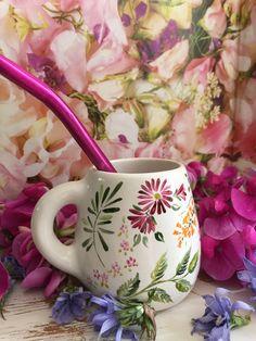 Matero Ceramic Pots, Glass Ceramic, Ceramic Clay, Ceramic Painting, Ceramic Pottery, Pottery Painting Designs, Pottery Designs, Cafe Art, Ceramics Projects