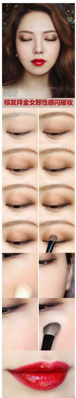 asian makeup tutorial ✨www.SkincareInKorea.info ✨www.DebbieKrug.org
