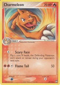 2007 Pokemon EX Power Keepers Uncommon Card- Charmeleon #28