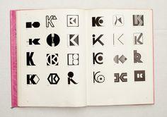 045.jpg (1600×1130) TRADE MARKS & SIMBOLS Volume 1: Alphabetical Designs | YASABURO KUWAYAMA #logo #design #Inspiration #graphic #shape #best #awesome #typography #best #pactice