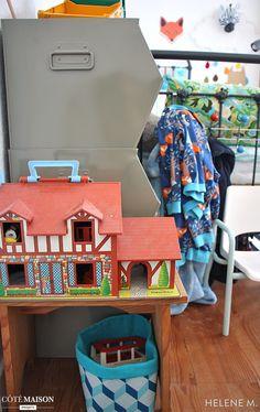 Bienvenue dans l'univers vintage et coloré de mes deux garçons de 3 et 6 ans. Decoration, Kids Room, Diy, Projects, Tour, Vintage, Blog, Quartos, Architects