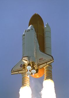 the launch i attended:  Space shuttle Discovery launching from Cape Canaveral on July 4, 2006