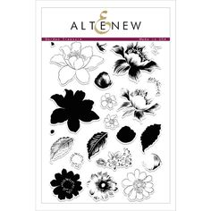 Altenew GARDEN TREASURE Clear Stamp Set Preview Image