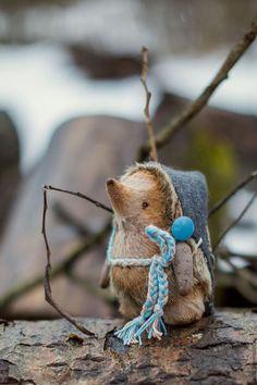 handmade toy hadgehog