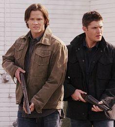 Jensen Ackles and Jared Padalecki in Supernatural--5x10 Abandon All Hope