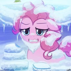 - Snow Yak Pinkie Pie by luminaura Mlp, Fluttershy, Princess Cadence, Princess Celestia, Beetle Bailey, Queen Chrysalis, Team Rwby, My Little Pony Merchandise, Pinkie Pie