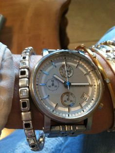 Ladies Stainless Steel Fossil Watch