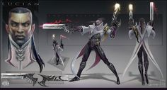 Lucian - FInal Color Concept by eoinart.deviantart.com on @deviantART