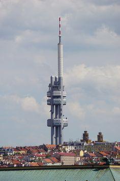 Fernsehturm in Prag Žižkover Fernsehturm