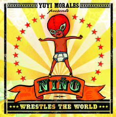 Niño Wrestles the World by Yuyi Morales.  Roaring Book Press, 2013.  (This Picture Book Life) - Lots of fun goodies to tie into the Mexican wrestling theme, too!