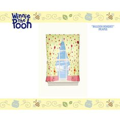 Winnie the Pooh Microfiber Curtain Panels, Set of 2! gotta have these too!
