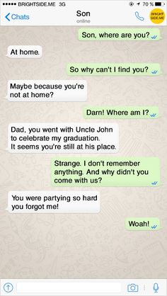 16utterly hilarious text conversations with loving fathers