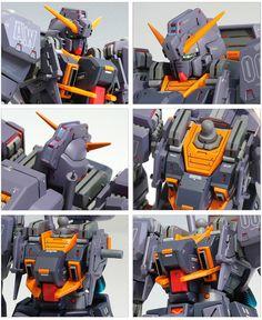 GUNDAM GUY: HGUC 1/144 RX-121-2A Gundam TR-1 Advanced Hazel - Customized Build