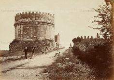 Sepolcro di Cecilia Metella Anno: 1864 ca