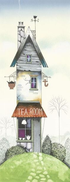 The Tea Room ~ by Gary Walton