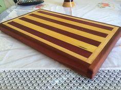 MARCENARIA CRIATIVA - Como fazer Tábua de cortar carne - wooden board to...