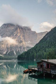 lvndscpe:  Peaceful lake | by Luca Bravo