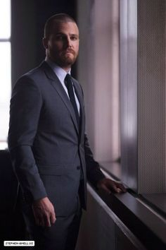 Arrow - Stephen Amell (Oliver Queen) at CTV 2014 Upfront Arrow Cw, Team Arrow, Oliver Queen Arrow, Stephen Amell Arrow, Dc Icons, Emily Bett Rickards, Its A Mans World, White Boys, Dream Guy