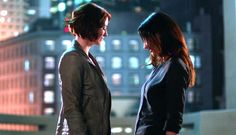 The sexual tension Alex And Maggie, Maggie Sawyer, Fleet Of Ships, Alex Danvers, Chyler Leigh, Lena Luthor, Katie Mcgrath, Melissa Benoist, The Cw