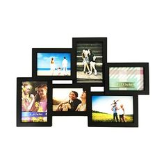 Amazon.com: MCS 10pc Multi Pack Picture Frame Value Set - Two 8x10 in, Four 5x7 in, Four 4x6 in, Black (65508): Home & Kitchen
