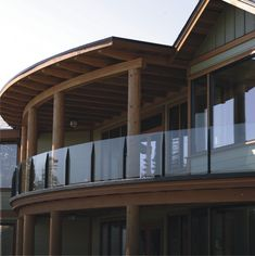 How to & Repairs : Glass Railing Systems For Decks Deck Balusters' Metal Railings' Deck Stair Railing plus How to & Repairss Patio Railing, Deck Stairs, Railing Design, Deck Design, Railing Ideas, Frameless Glass Balustrade, Glass Handrail, Glass Railing System, Glass Stairs