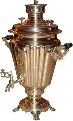 The Samovar is a tool used both to boil water for preparing tea, as well as serve tea, so appreciated by the Russians. It was introduced in Russia by Peter the Great, and an industrial center, initially, in the Urals, a region rich in minerals, especially copper and iron ore. Later, the Tula region (land Tolstoy) is now also producing this tool, and Tula in 1850 had 128 factories , which produced about 120 thousand units per year. Moreover, there is this City Museum Samovar.