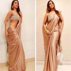 From Manish Malhotra to Sabyasachi, discover the latest saree blouse designs for 2019 for weddings and parties, inspired by Bollywood and runway trends. Latest Saree Blouse, Saree Blouse Designs, Indian Beauty Saree, Indian Sarees, Saris, Indian Dresses, Indian Outfits, Indian Clothes, Manish Malhotra Saree