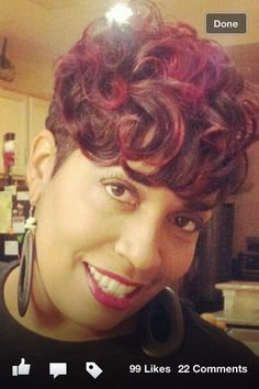 Love This Color And Style By Candayce Odom True Perfection Hair Studio In Houston