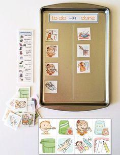 Все идет по плану: 20 отличных идей планирования для детей и взрослых - Ярмарка Мастеров - ручная работа, handmade