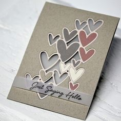 Blog • FLEBBEart Valentine Day Cards, Valentines, Diy Crafts For Adults, Happy Hearts Day, Love Phrases, Diy Flowers, Flower Diy, Heart Cards, Pen And Paper