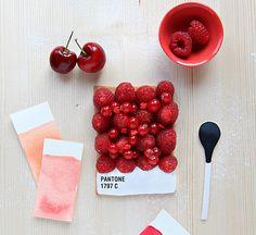Delicious Pantone, by Emilie de Griottes