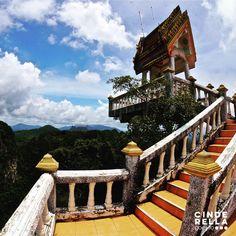 1260 steps Tiger Tample cave #traveldesign #thailand #krabi
