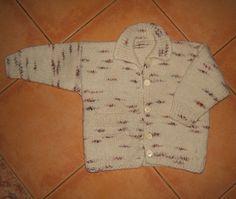 Strakatý sveter Lada | PLETENÍ – NÁVODY
