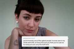 This Tumblr User Shows Her Horrific Anonymous Messages In A Powerful Art Project