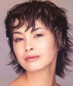 short layered haircuts for fine hair | Short Funky Hairstyles for Women Pictures