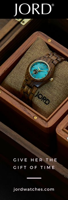 She deserves the best, so find her perfect gift from JORD! This line of natural luxury wood watches is becoming a fast favorite on well styled wrists this year. Stylish Watches, Cool Watches, Watches For Men, Nixon Watches, Wrist Watches, Sorority Little, Tom Ford Makeup, Fashion Accessories, Fashion Jewelry