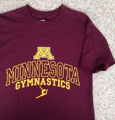 cd2619b16 Details about MINNESOTA GOLDEN GOPHERS ADULT DARK GREY EMBROIDERED T-SHIRT  SM-5XL NWT#
