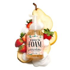 Perfectly Posh offers Pampering products made in the USA with gentle, natural ingredients. Foaming Hand Wash, Perfectly Posh, Pear, Moisturizer, Strawberry, How To Apply, Hands, Cleansers, Beauty