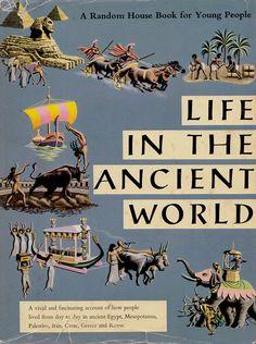 Life in the Ancient World by Bart Winer von ElwoodAndEloise auf Etsy
