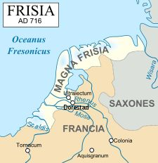 The Frisii  began settling in Frisia around 500 BC. According to Pliny the Younger, in Roman times, the Frisians (or, as it may be, their close neighbors, the Chauci) lived on terps, man-made hills.