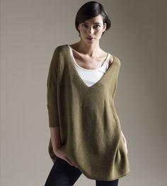 Eileen Fisher; LOVE big pretty sweaters.
