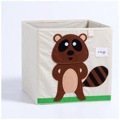 Cube storage box - beaver Fabric Storage Boxes, Kid Toy Storage, Cube Storage, Storage Bins, Storage Ideas, Kallax Shelving Unit, Clothing Boxes, Cosmetic Storage, Organiser Box