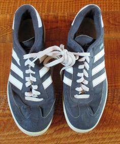 Men's adidas Originals Samba Shoes Legend Ink White Navy Soccer Super Suede USED #adidas #FashionSneakers