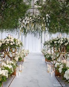 Embracing @Pantone's Colour of the Year with this gorgeous space filled with bountiful overhanging #Greenery! (: @mpsginc, co-concept creator, producer: @amandafoongcakes; @mpsginc, creative director, floral and decor: @coverscouture, co-producer, creative director, planner: @bijiplanners, styling: @mpsginc, vinyl floor: @dancefloordecor, chairs: @detailzchaircouture)