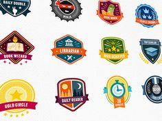 BookWhiz Achievement Badges by Mike McDonald