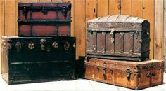 Home-Dzine - How to make a steamer trunk